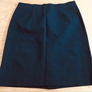 NWOT J.Jill Black Stretch Skirt Size Medium
